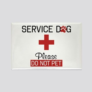 Service Dog Please Do Not Pet Magnets