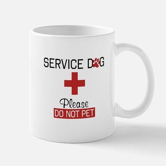Service Dog Please Do Not Pet Mugs
