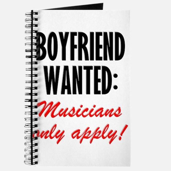 Boyfriend Wanted Journal
