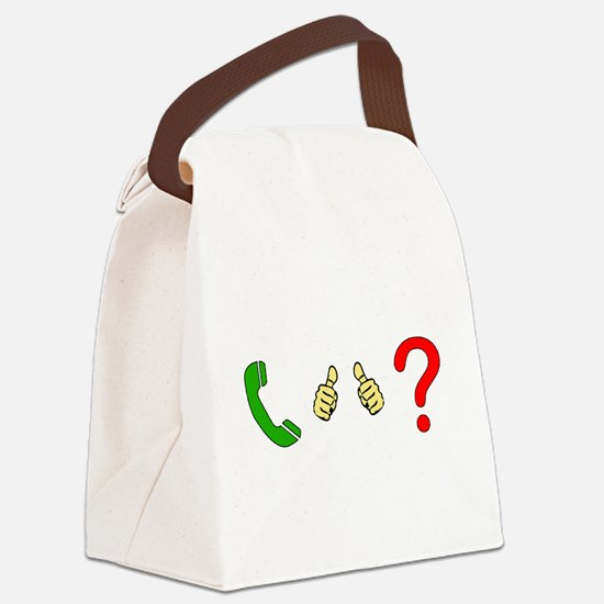 Call Me Maybe Canvas Lunch Bag
