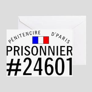 Prisonnier #24601 Greeting Card