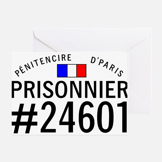 Prisonnier #24601 Greeting Card