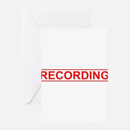 Recording Greeting Card