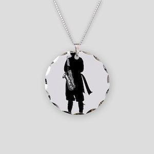 Ninja (Sax) Necklace Circle Charm