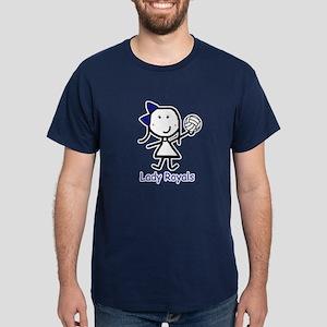Volleyball - Lady Royals Dark T-Shirt