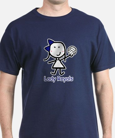 Volleyball - Lady Royals T-Shirt