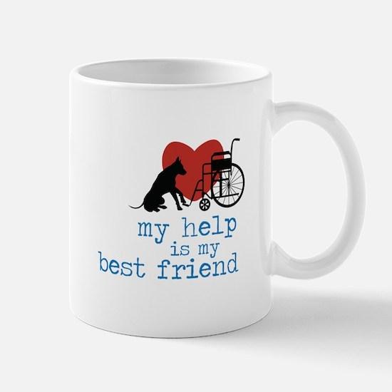 My Help Is My Best Friend Mugs