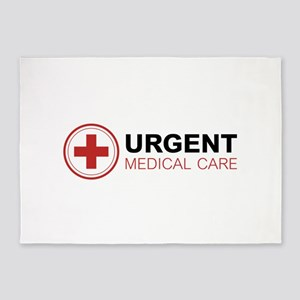 Urgent Medical Care 5'x7'Area Rug