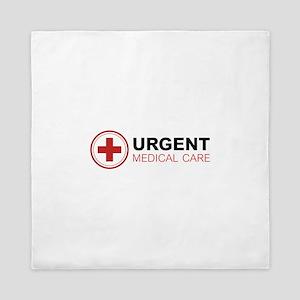 Urgent Medical Care Queen Duvet
