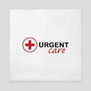 Urgent Care Queen Duvet