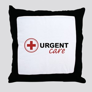 Urgent Care Throw Pillow