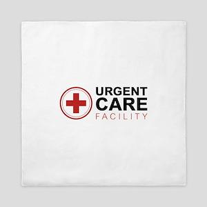 Urgent Care Facility Queen Duvet