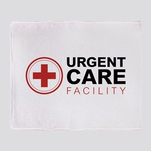 Urgent Care Facility Throw Blanket