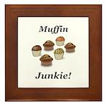 Muffin Junkie Framed Tile