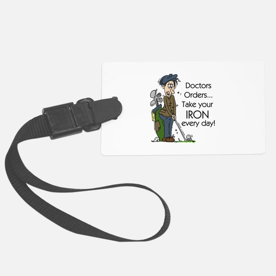 Golf Iron Every Day Luggage Tag