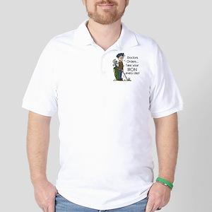Golf Iron Every Day Golf Shirt