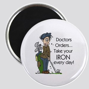 Golf Iron Every Day Magnet