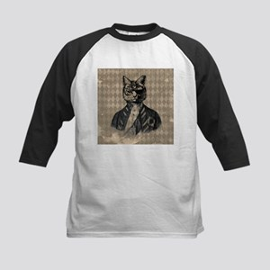 Harlequin Cat Baseball Jersey