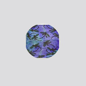 Dragonfly Flit Purple Haze Mini Button