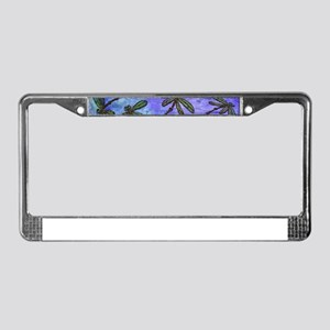Dragonfly Flit Purple Haze License Plate Frame