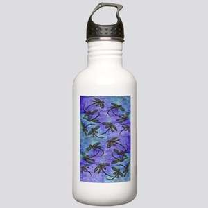 Dragonfly Flit Purple Haze Sports Water Bottle