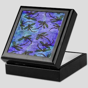 Dragonfly Flit Purple Haze Keepsake Box