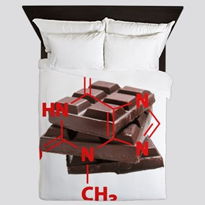 Chocolate Chemistry Queen Duvet