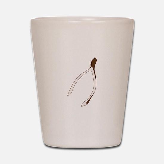 Wishbone Shot Glass