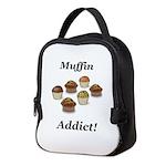 Muffin Addict Neoprene Lunch Bag