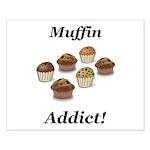 Muffin Addict Small Poster