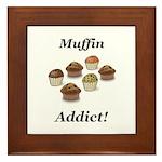 Muffin Addict Framed Tile