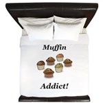 Muffin Addict King Duvet