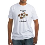 Muffin Addict Fitted T-Shirt