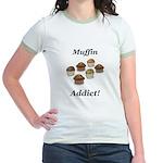 Muffin Addict Jr. Ringer T-Shirt