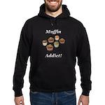 Muffin Addict Hoodie (dark)