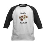Muffin Addict Kids Baseball Jersey
