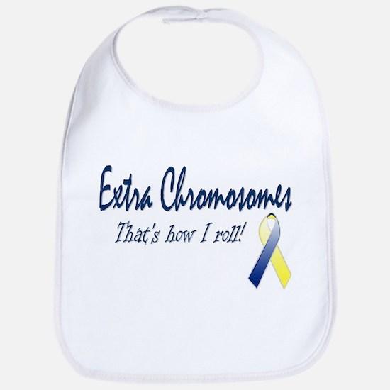 Extra Chromosomes - How I Roll Bib