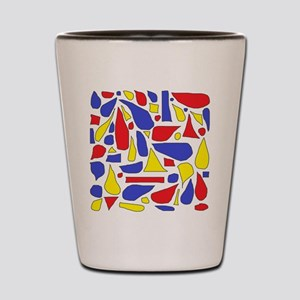 Silly Primaries Shot Glass