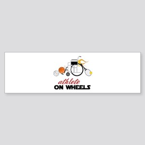 Athlete Bumper Sticker