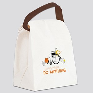 Go Anywhere Do Anything Canvas Lunch Bag