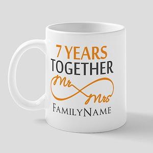 7th anniversary Mug
