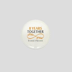 8th anniversary Mini Button
