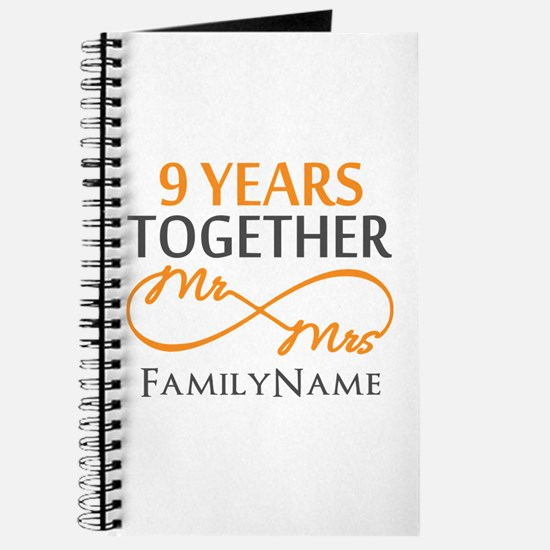 9th anniversary Journal