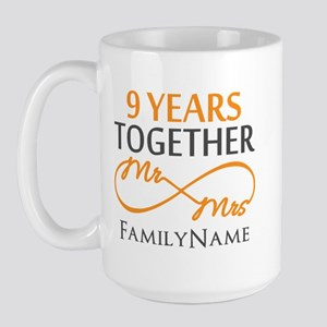 9th anniversary Large Mug