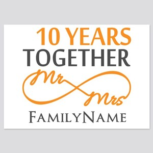 10 year anniversary invitations and announcements cafepress