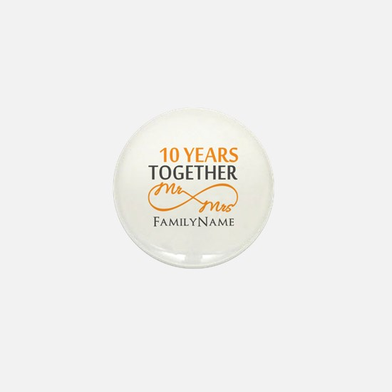 10th anniversary Mini Button