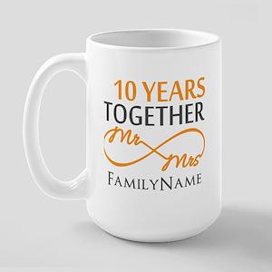 10th anniversary Large Mug