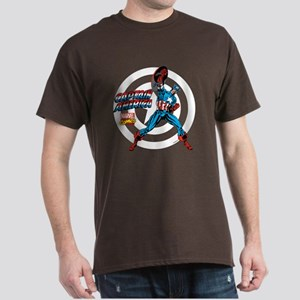 Captain America Power Dark T-Shirt