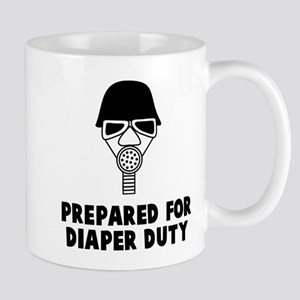 Prepared for diaper Mugs