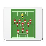Soccer Team, Football Players Mousepad